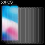 For Alcatel 3X 2020 50 PCS 0.26mm 9H 2.5D Tempered Glass Film