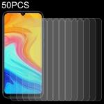 For Lenovo A7 50 PCS 0.26mm 9H 2.5D Tempered Glass Film