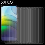 For Lenovo K12 Pro 50 PCS 0.26mm 9H 2.5D Tempered Glass Film