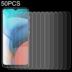 For Lenovo K13 50 PCS 0.26mm 9H 2.5D Tempered Glass Film