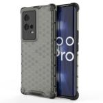 For Vivo iQOO 8 Pro Shockproof Honeycomb PC + TPU Protective Case(Black)