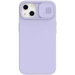 NILLKIN CamShield Liquid Silicone + PC Full Coverage Case For iPhone 13(Purple)