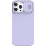 NILLKIN CamShield Liquid Silicone + PC Full Coverage Case For iPhone 13 Pro(Purple)