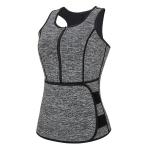 Neoprene Women Sport Body Shapers Vest Waist Body Shaping Corset, Size:XXXL(Grey)