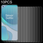 For OnePlus 8T / 8T+ 5G 10 PCS 0.26mm 9H 2.5D Tempered Glass Film