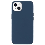 Fully Wrapped Shockproof Silicone Protective Case For iPhone 13 mini(Dark Blue)