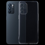For OPPO Reno6 4G 0.75mm Ultra-thin Transparent TPU Soft Protective Case