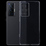 For vivo X70 Pro 0.75mm Ultra-thin Transparent TPU Soft Protective Case