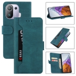 For Xiaomi Mi 11 Pro Reverse Buckle Horizontal Flip PU Leather Case with Holder & Card Slot & Wallet(Lake Blue)
