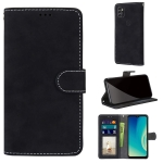 For ZTE Blade A7s 2020 Retro Frosted Horizontal Flip PU Leather Case with Holder & Card Slots & Wallet & Photo Frame(Black)