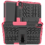 Tire Texture TPU + PC Shockproof Case with Holder For iPad mini 6(Pink)
