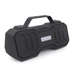 New Rixing NR-4500M Bluetooth 5.0 Portable Outdoor Karaoke Wireless Bluetooth Speaker with Microphone(Grey)