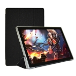 For Teclast P20HD Horizontal Flip PU Leather Case with Holder(Black)