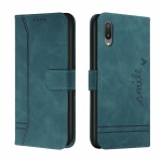 For Samsung Galaxy A02 Retro Skin Feel Horizontal Flip Soft TPU + PU Leather Case with Holder & Card Slots & Photo Frame(Army Green)