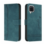 For Samsung Galaxy A22 4G Retro Skin Feel Horizontal Flip Soft TPU + PU Leather Case with Holder & Card Slots & Photo Frame(Army Green)