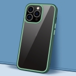 Gorgeous Color Series PC + TPU Shockproof Protective Case For iPhone 13 Pro Max(Dark Green)