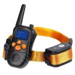 998DC Bark Stopper Remote Control Electric Shock Collar Dog Training Device, Plug Type:EU Plug