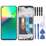 LCD Screen and Digitizer Full Assembly With Frame for OPPO Realme 7i RMX2103