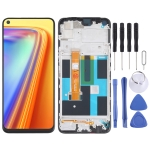 LCD Screen and Digitizer Full Assembly With Frame for OPPO Realme 7 (Global) 4G RMX2155