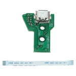 JCD JDS-055 USB Charging Port Board with 12 Pin FPC Flex Cable For PS4