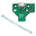 JCD JDS-011 USB Charging Port Board with 12 Pin FPC Flex Cable For PS4