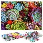 1000 Pieces Adult Puzzle Succulent Plants Puzzle Toy, Style: Ordinary