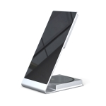 Y21 2 in 1 Mobile Phone Magnetic Wireless Charger 15W Fast Charging Bracket For IPhone & IPad(Silver)