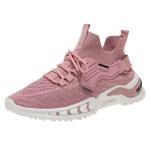 ZM-79 Women Low-Top Breathable Running Shoes Casual Sports Shoes, Size: 38(Pink)