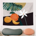 Fabric Tapestry Exaggerated Abstract Style Hanging Background Covering Cloth, Size: 150x100cm(GRS-6002)