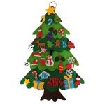 Handmade Felt Christmas Tree Decoration Children DIY Christmas Decorations, Style: Stitching 3