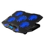 ICE COOREL K5 Laptop Radiator Computer Cooling Bracket, Colour: Standard Version (Black Blue)