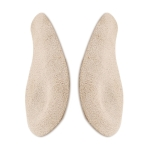 5 Pairs O-Shaped Leg Correction Inner And Outer Horoscope Heel Insole, Colour: Flannel Apricot