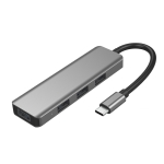 ICE COOREL H8 Multifunction USB HUB USB Interface Mobile Bracket, Number of interfaces: 4 In 1