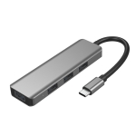 ICE COOREL H8 Multifunction USB HUB USB Interface Mobile Bracket, Number of interfaces: PD Charging 5 In 1