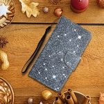 For Samsung Galaxy A03s Painted Pattern Horizontal Flip Leather Case with Holder & Card Slot & Wallet(Gypsophila)