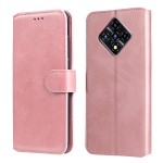 For Infinix Zero 8 Classic Calf Texture PU + TPU Horizontal Flip Leather Case with Holder & Card Slots & Wallet(Rose Gold)