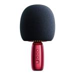 JOYROOM JR-K3 Bluetooth 5.0 Handheld Karaoke Microphone with Speaker(Red)