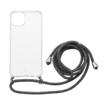 MOMAX All-inclusive TPU Shockproof Protective Case with Lanyard For iPhone 13 mini(Transparent)