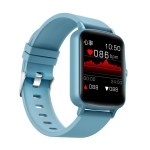 PTone 1.44 inch HD Touch Screen IP67 Waterproof Smart Watch, Support Sleep Monitoring / Heart Rate Monitoring / Blood Pressure Monitoring(Blue)